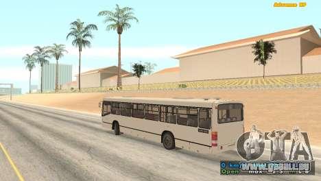 Mercedes-Benz Turk O345 pour GTA San Andreas laissé vue