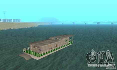 HAUS AUF DEM WASSER für GTA San Andreas linke Ansicht