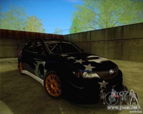 Subaru Impreza WRX STI 2011 pour GTA San Andreas roue