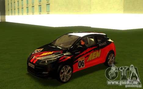 Renault Megane RS pour GTA San Andreas vue intérieure
