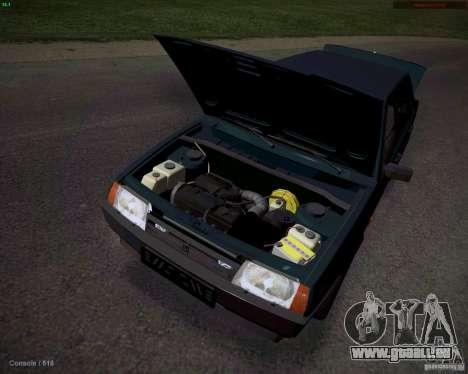 VAZ 21099 Drain pour GTA San Andreas sur la vue arrière gauche