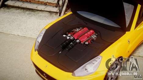 Ferrari California v1.0 pour GTA 4 est une vue de l'intérieur