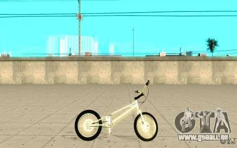 Trail Bike Chrome pour GTA San Andreas laissé vue