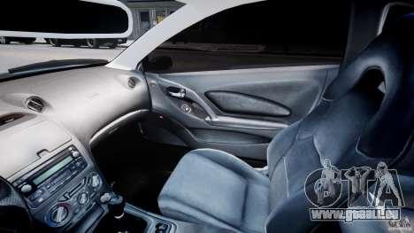 Toyota Celica Tuned 2001 v1.0 für GTA 4 Innenansicht
