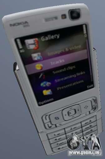 Nokia N95 Mobile pour GTA San Andreas