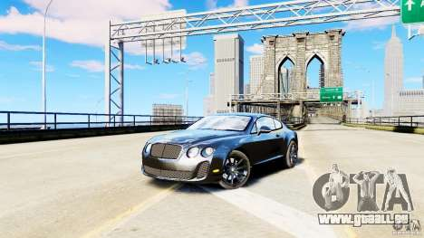 Bentley Continental SuperSports v2.5 für GTA 4
