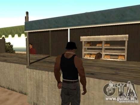 Markt am Strand für GTA San Andreas