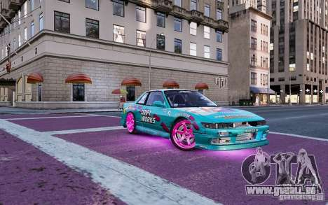 Nissan Silvia S13 Drift Works pour GTA 4