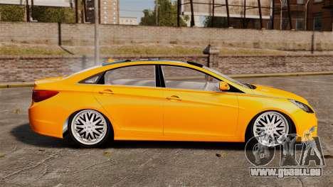 Hyundai Sonata 2011 v2.0 für GTA 4 linke Ansicht
