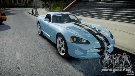Dodge Viper SRT-10 pour GTA 4 Vue arrière