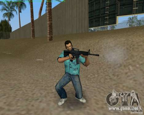 M4 von Counter Strike Source für GTA Vice City fünften Screenshot
