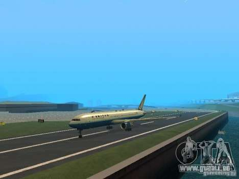Boeing 767-300 United Airlines New Livery für GTA San Andreas