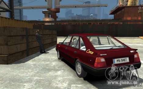 FSO Polonez Caro 1.4 16V für GTA 4 hinten links Ansicht