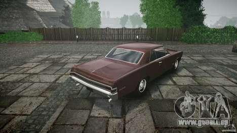 Pontiac GTO 1965 für GTA 4-Motor