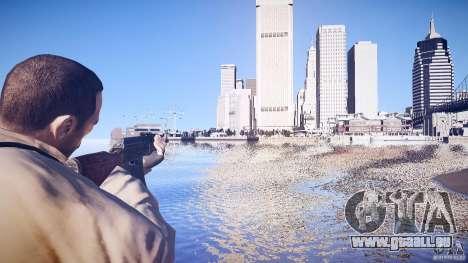 Die neue AK-47 für GTA 4 Sekunden Bildschirm