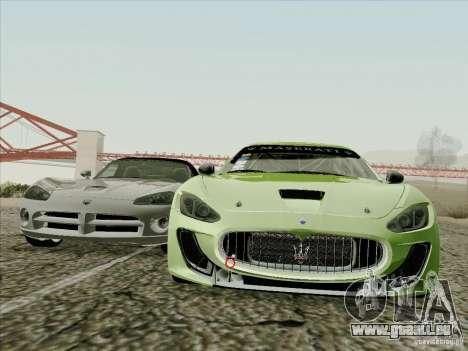Maserati GranTurismo MC 2009 pour GTA San Andreas vue arrière