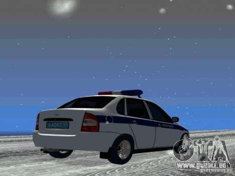 VAZ 1118 DPS pour GTA San Andreas vue de droite