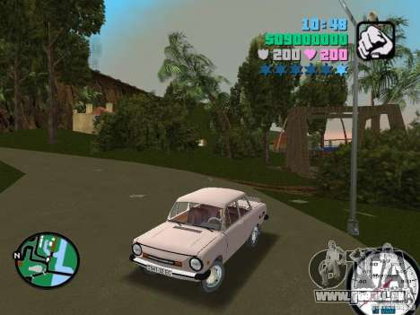 ZAZ 968 für GTA Vice City