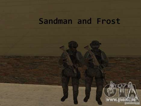 Frost and Sandman pour GTA San Andreas