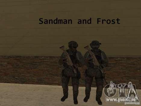 Frost and Sandman für GTA San Andreas