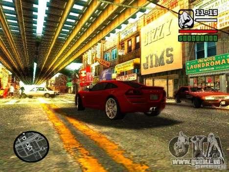 Lotus Europe S pour GTA San Andreas sur la vue arrière gauche