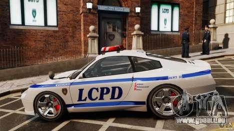 Comet Police für GTA 4 linke Ansicht