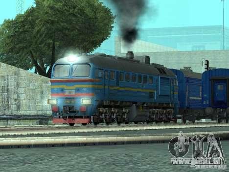 DM62 1804 pour GTA San Andreas sur la vue arrière gauche