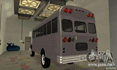 Civil Bus pour GTA San Andreas vue de droite