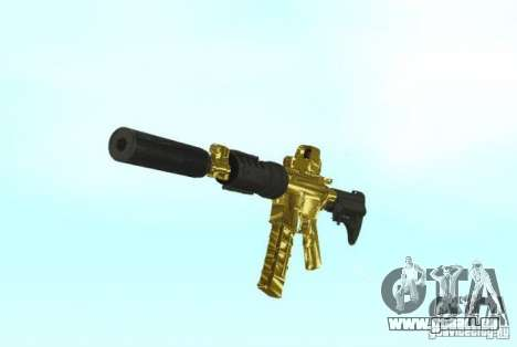 [GOLD] m4 für GTA San Andreas zweiten Screenshot