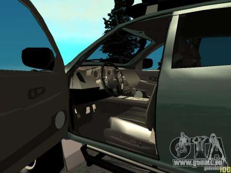 Mitsubishi L200 für GTA San Andreas zurück linke Ansicht