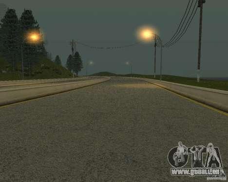 Construction de nouvelles routes à San Fierro pour GTA San Andreas neuvième écran