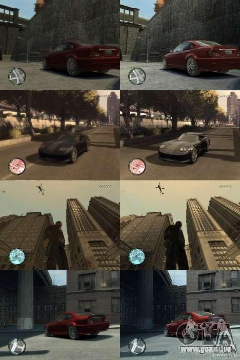 Graphismes améliorés pour GTA 4