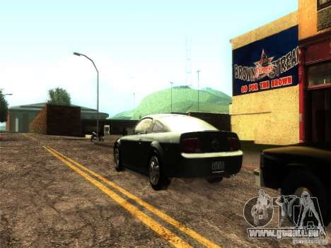 ENB v1 by Tinrion für GTA San Andreas dritten Screenshot