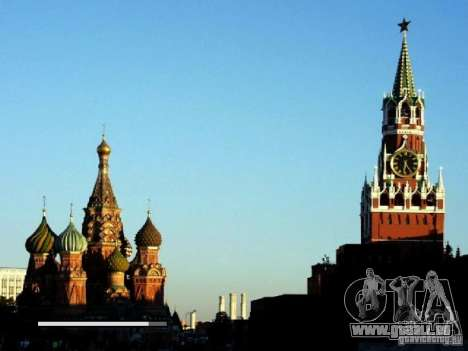 Écran de démarrage de Moscou pour GTA San Andreas troisième écran