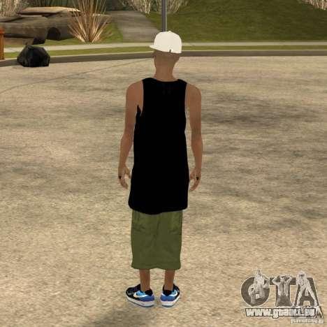 Cone Crew Skin pour GTA San Andreas quatrième écran