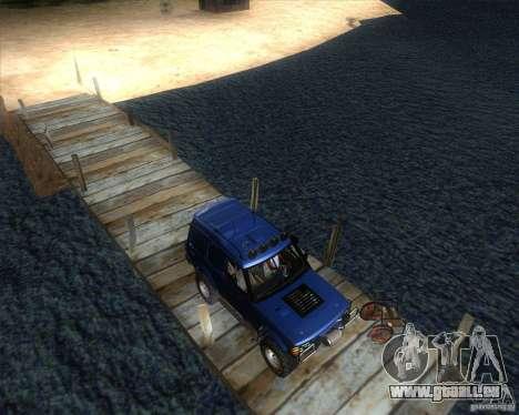 Landrover Discovery 2 Rally Raid pour GTA San Andreas