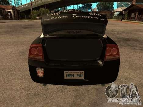 Dodge Charger RT Police pour GTA San Andreas vue de côté