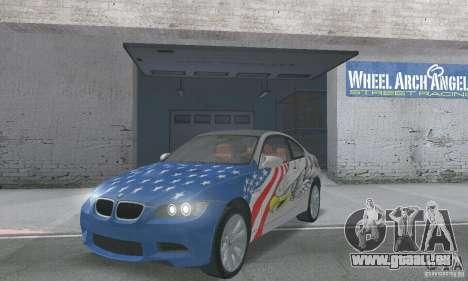 BMW M3 E92 Stock für GTA San Andreas Seitenansicht