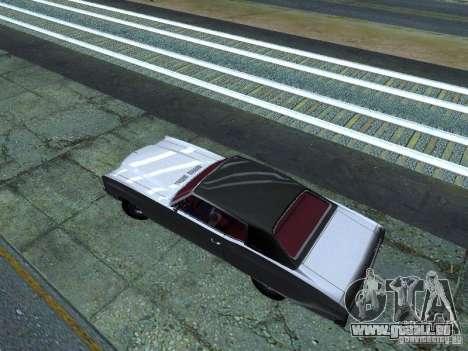 Chevrolet Monte Carlo 1970 pour GTA San Andreas vue intérieure