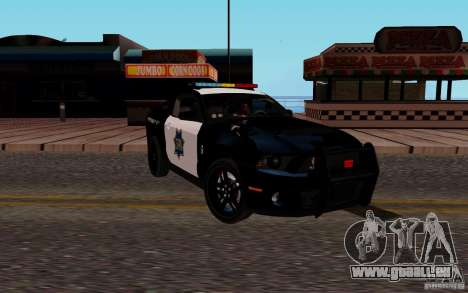 Ford Shelby Mustang GT500 Civilians Cop Cars pour GTA San Andreas