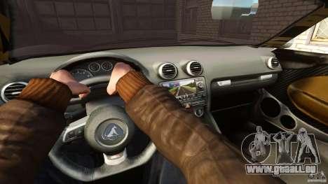 Turismo Spider für GTA 4 Rückansicht