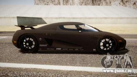 Koenigsegg CCXR Edition für GTA 4 Innenansicht