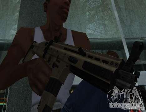 FN Scar L für GTA San Andreas