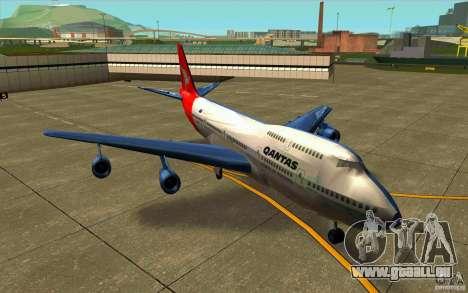 Boeing Qantas 747-400 für GTA San Andreas