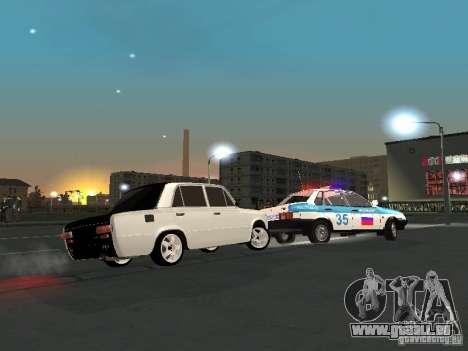 Vaz 2101 blanc enfants pour GTA San Andreas vue de côté
