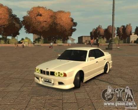 Bmw 535i (E34) tuning für GTA 4 linke Ansicht