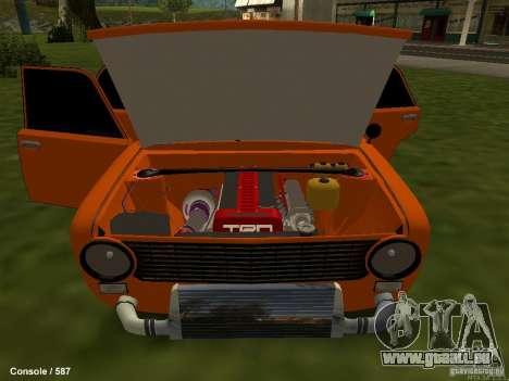 VAZ 2101 Hobo für GTA San Andreas Seitenansicht