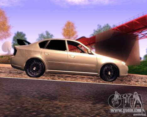Subaru Legacy 3.0 R tuning v 2.0 für GTA San Andreas linke Ansicht