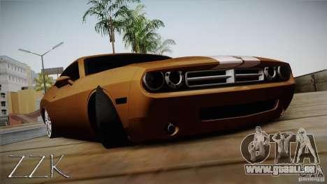 Dodge Challenger Socado Com Rotiform FIXA pour GTA San Andreas