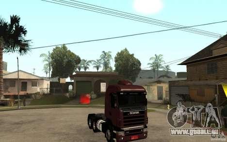 Scania 124 R480 6x4 Truck 1 pour GTA San Andreas vue arrière